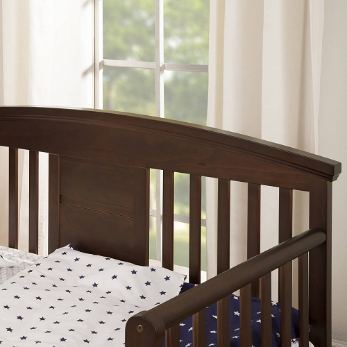 008TRB Convertible Toddler Bed in Espresso