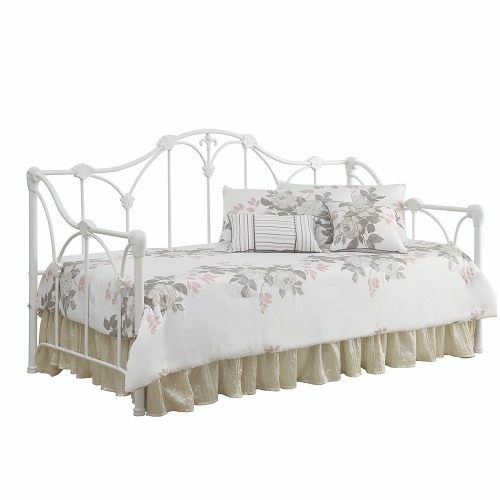 Item # 004MDB Daybed with Floral White Frame