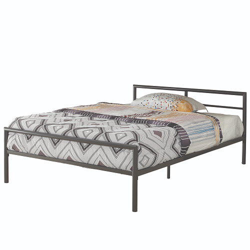 Item # 006MLB Full Bed with Sleek Lines