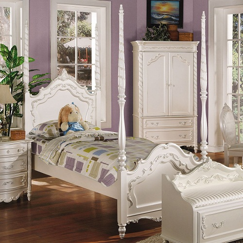 Item # 0906FB Audrina Full Post Bed