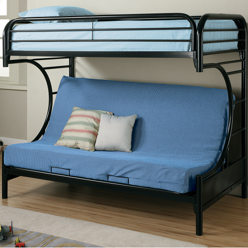 Item # 010MLB Twin Over Full Futon Bunk Bed