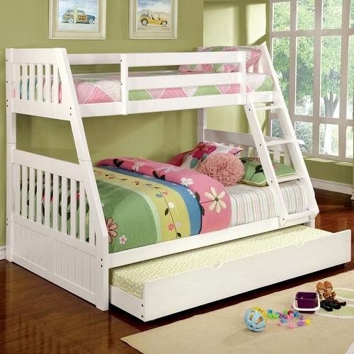 A0058TF Twin/Full Bunk Bed