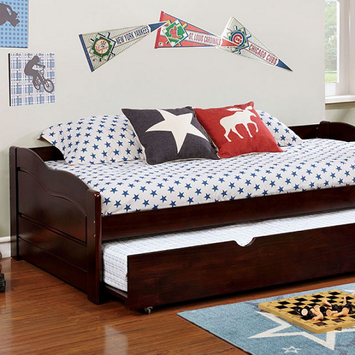 006DB Twin Daybed w/ Trundle in Espresso