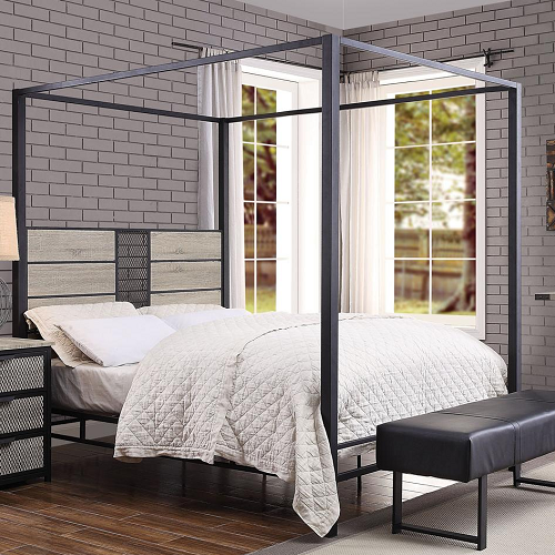 1040TMB Twin Metal Canopy Bed