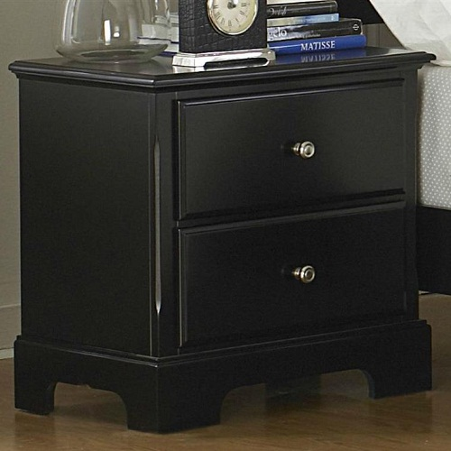 114NS Nightstand in Black