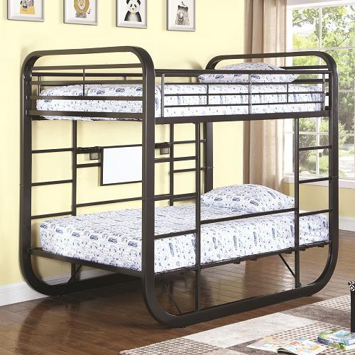 144MBB Full/Full Workstation Loft Bunk Bed