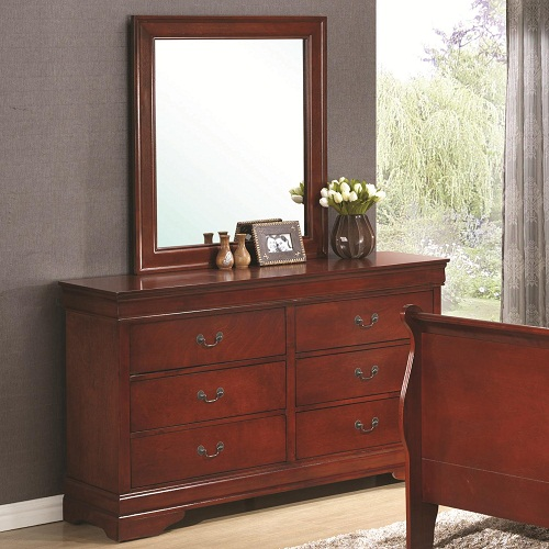 112DR 6 Drawer Dresser