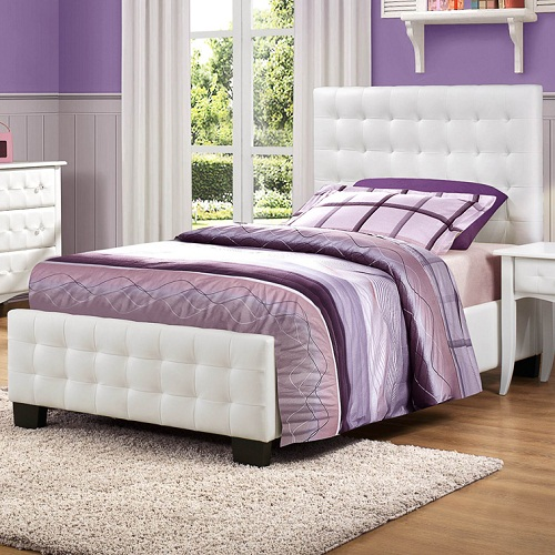0118T Tufted Twin Bed