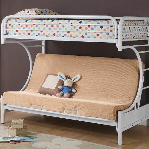 011MLB Twin Over Full Futon Bunk Bed
