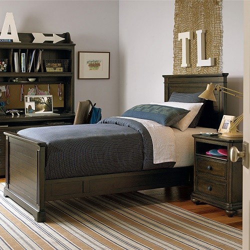 0014TB Dalary Twin Panel Bed