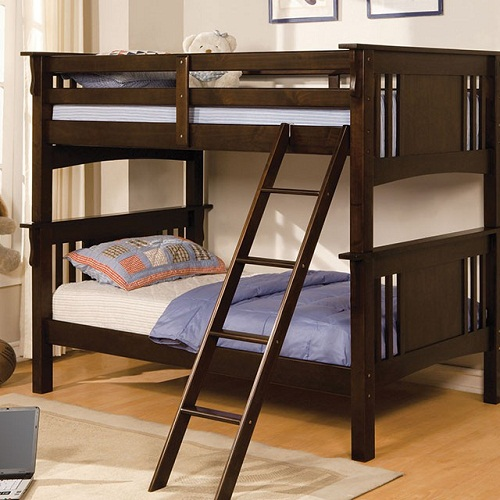 A0087TT Twin/Twin Bunk Bed
