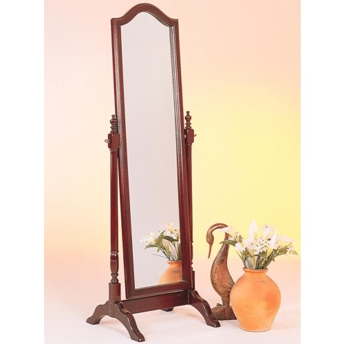 Item # 018CM Cheval Mirror w/ Arch Top