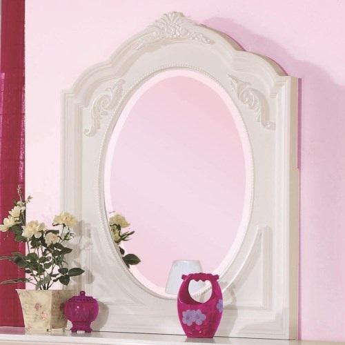 022M Framed Oval Mirror