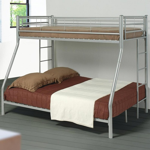 066MBB Twin/Full Metal Bunk Bed