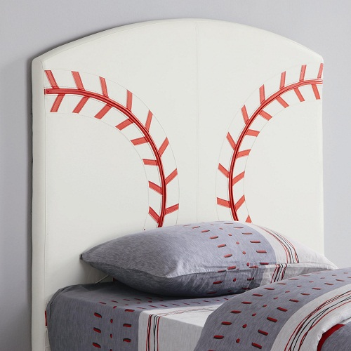 222HB Twin Baseball Headboard