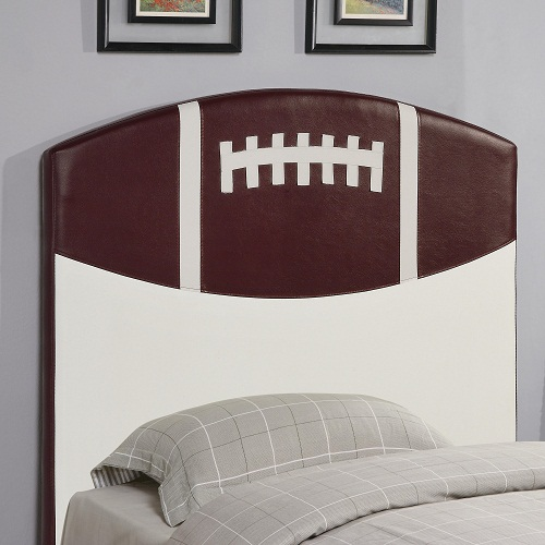 224HB Twin Football Headboard
