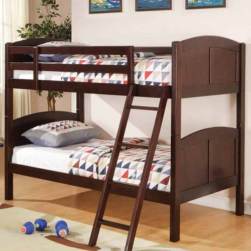 A0123TT Twin Over Twin Bunk Bed
