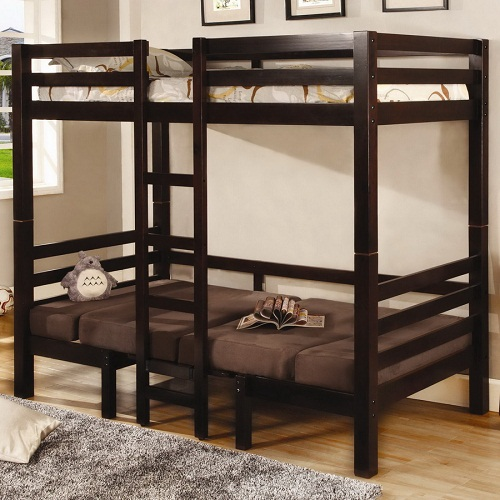 A0112TT Twin/Twin Convertible Loft Bed