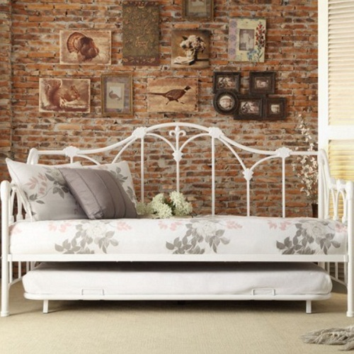 010MDB Metal DayBed W/ Trundle