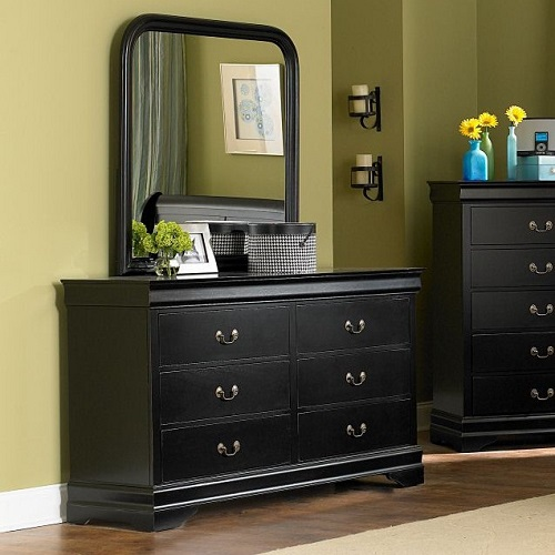 160DR 6 Drawer Dresser