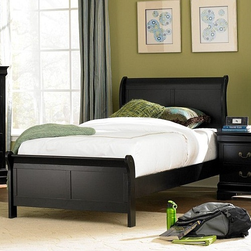 1049T Twin Sleigh Bed