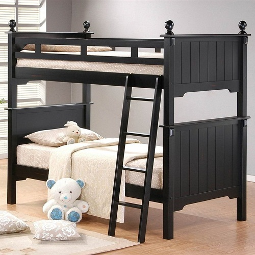 A0097TT Pottery Collection Twin over Twin Bunk Bed