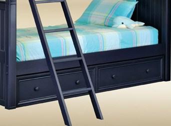 SU07-BB-BLUE 2 Drawer Under Bed in Blue