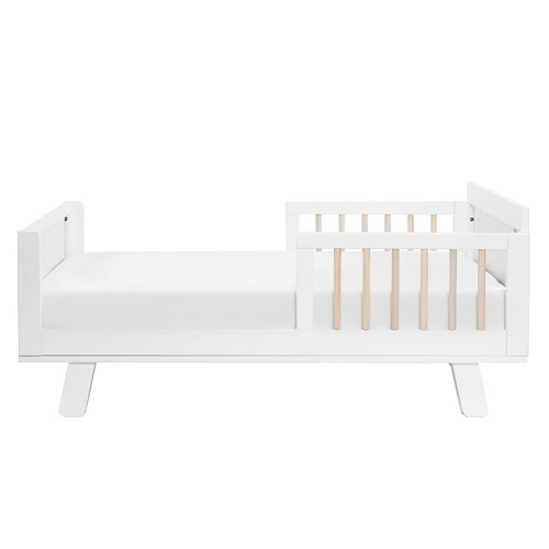 CB009 Junior Bed Conversion Kit in White/Washed Natural