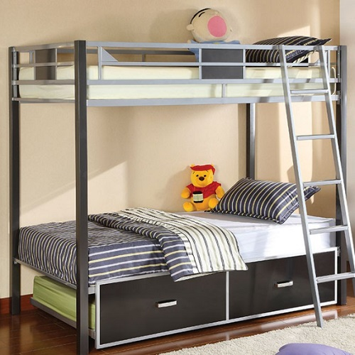 042MBB Twin/Twin Bunk Bed