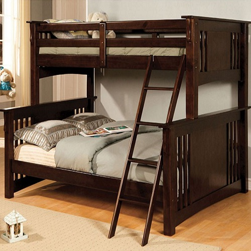 A0037TF Twin/Full Bunk Bed