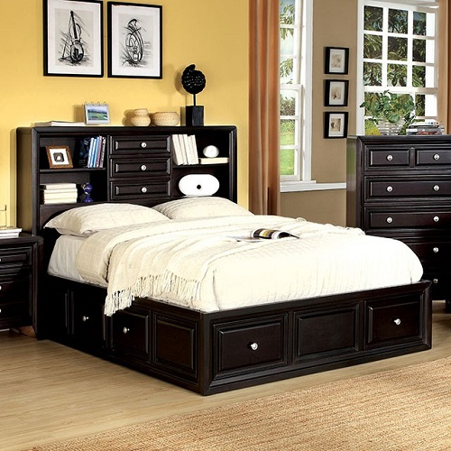 Item # 022Q Platfrom Queen Bed