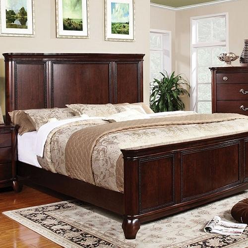 Item # 037Q Rope Design Queen Bed