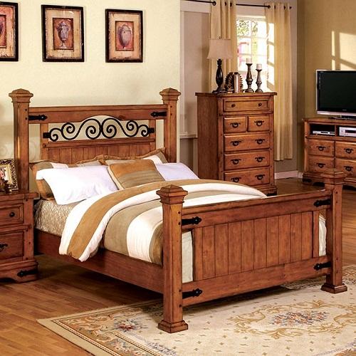 Item # 047Q Queen Bed