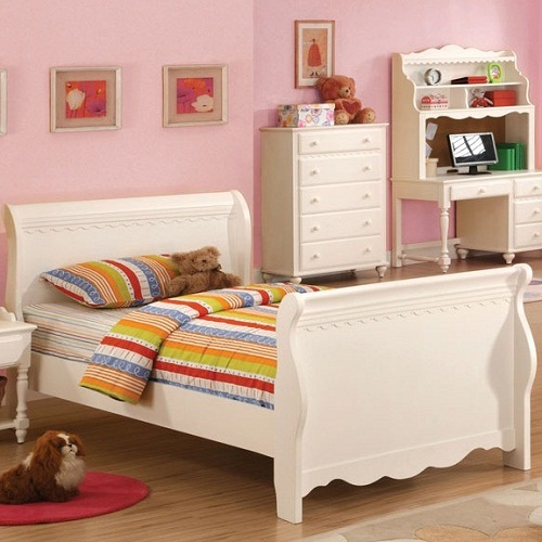 080FB Full Sleigh Bed