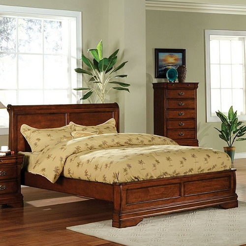 Item # 053Q Queen Bed