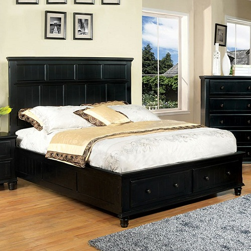 Item # 057Q Queen Bed