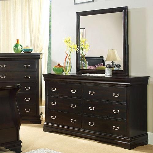Item # 132DR 6 Drawer Dresser
