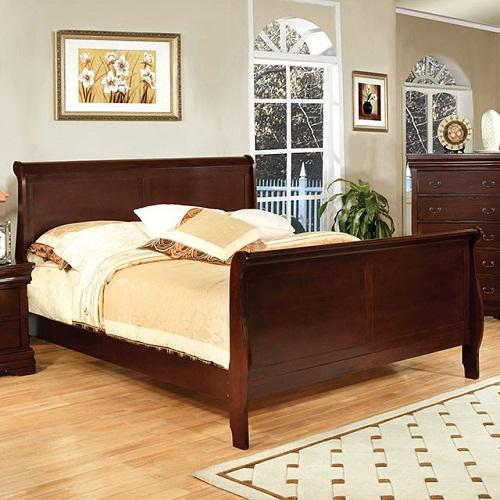 Item # 070Q Queen Sleigh Bed