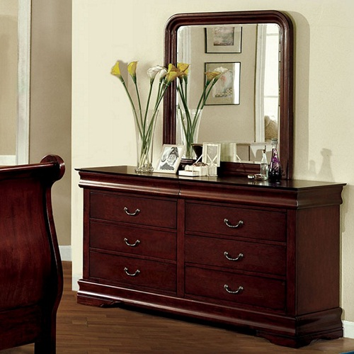 134DR 6 Drawer Dresser