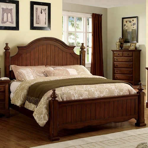 item # 076Q Queen Bed
