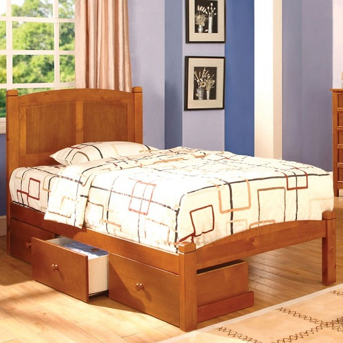 087FB Full Platform Bed