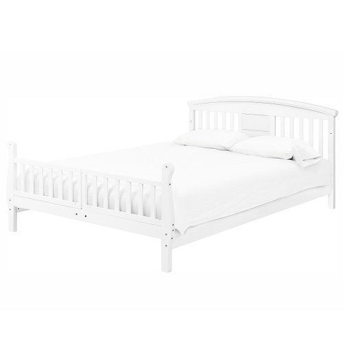 011TRB Convertible Toddler Crib in White