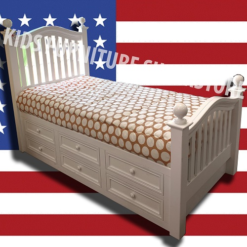 Item # US0024 Twin Captain's Bed
