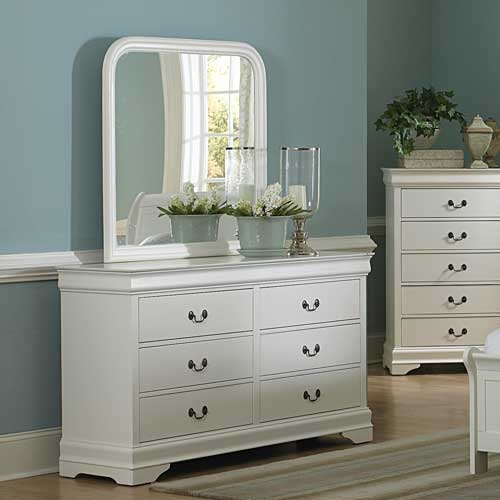 159DR 6 Drawer Dresser