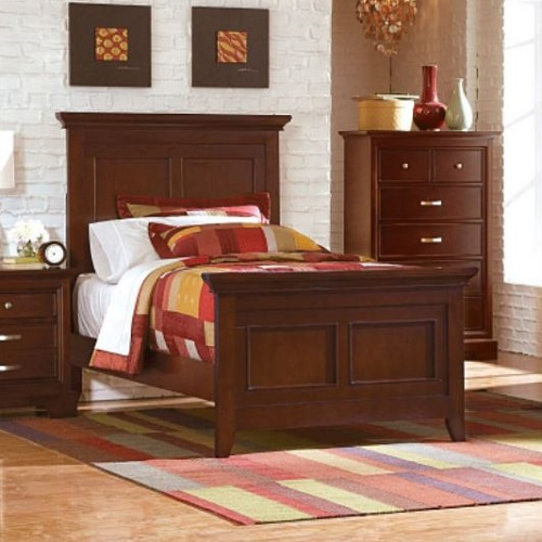 Item # 1043T Glamour Twin Bed
