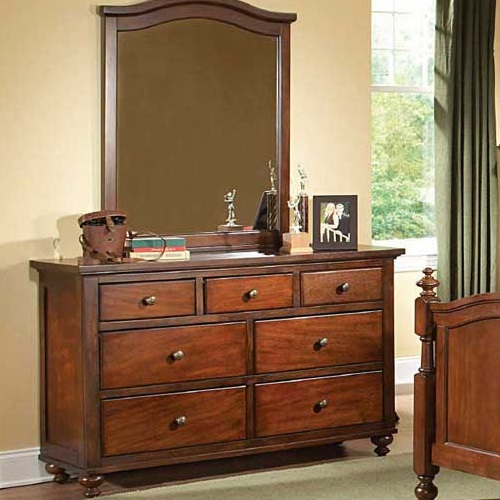 Item # 120DR 7 Drawer Dresser