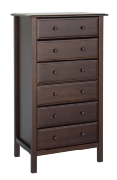 M5918 Annabelle 6 Drawer Tall Dresser
