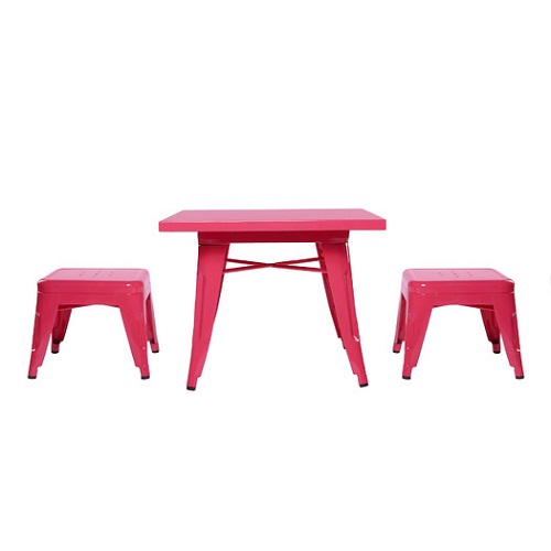 Item # 003KTCH Pink Table & Chairs Set