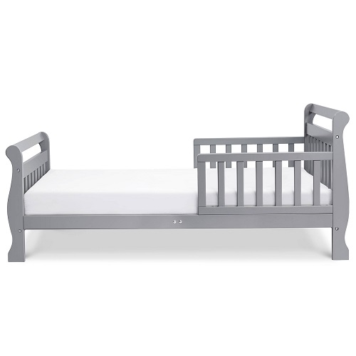007TRB Toddler Sleigh Bed in Grey
