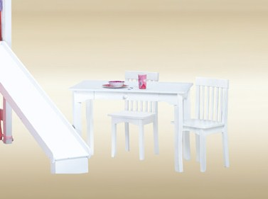 Item # KTB-W Kids Table in White